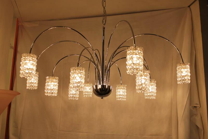 Lampade a sospensione da polverini lampadari for Lampadari con lampade a led