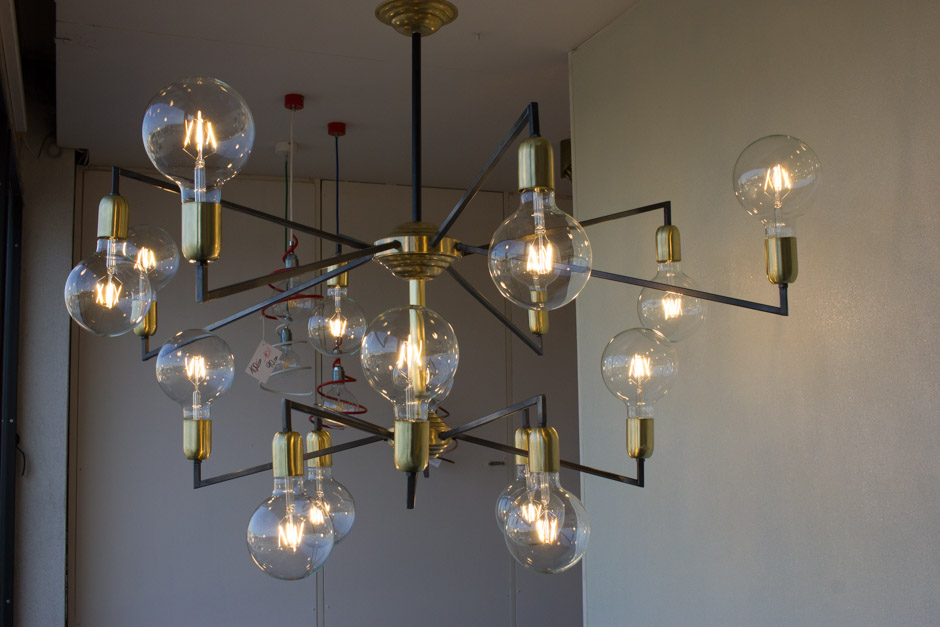 Plafoniere Vintage : Lampade plafoniere da polverini lampadari
