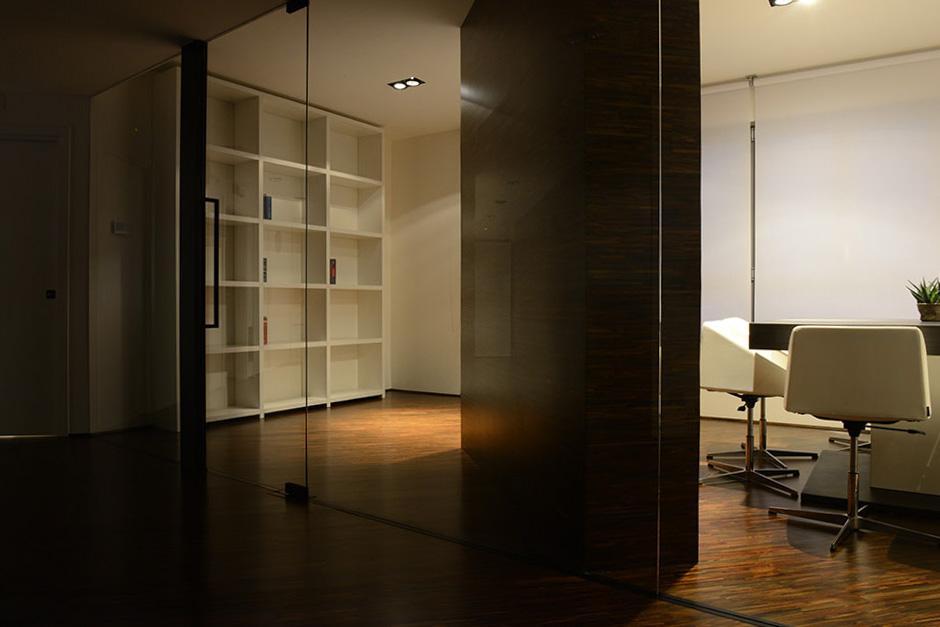 Installazione illuminazione lampade faretti studio legale