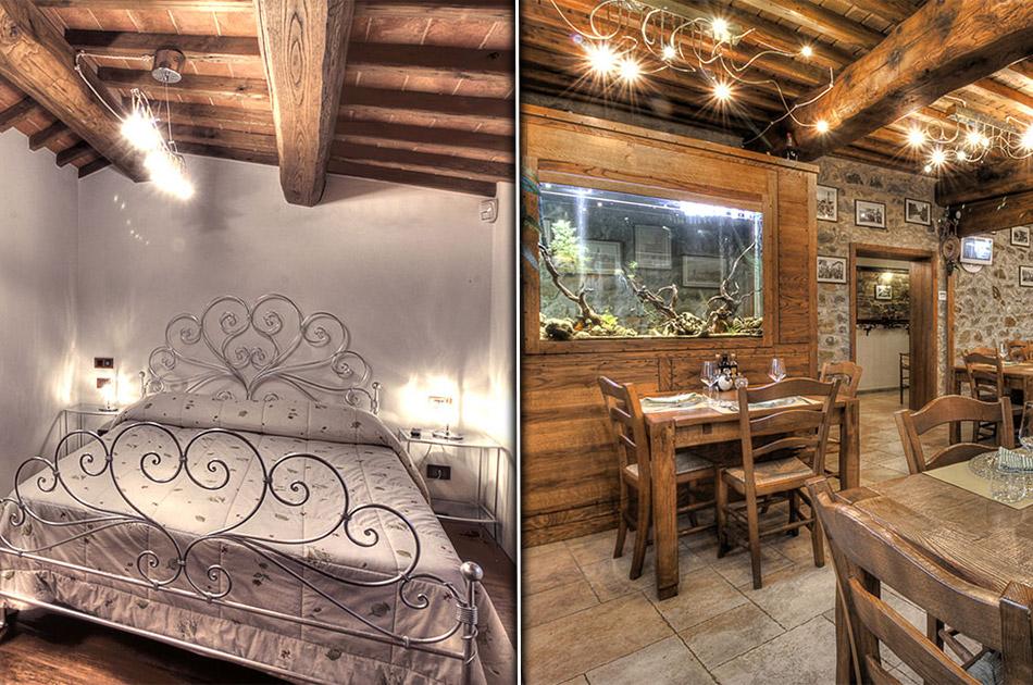 Polverini, progettazione ed illuminazione ristorante in Arezzo