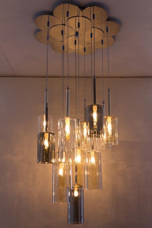 Calice sospensione 12 luci - Lampadario sospeso