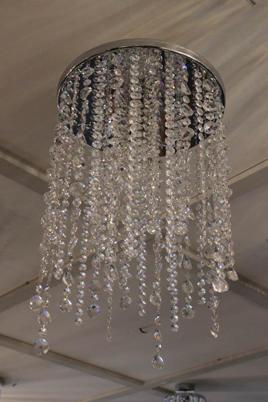 Lampada Cilindro di swarovski