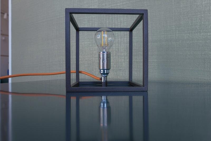 Cubo lumetto - Lampada da tavolo