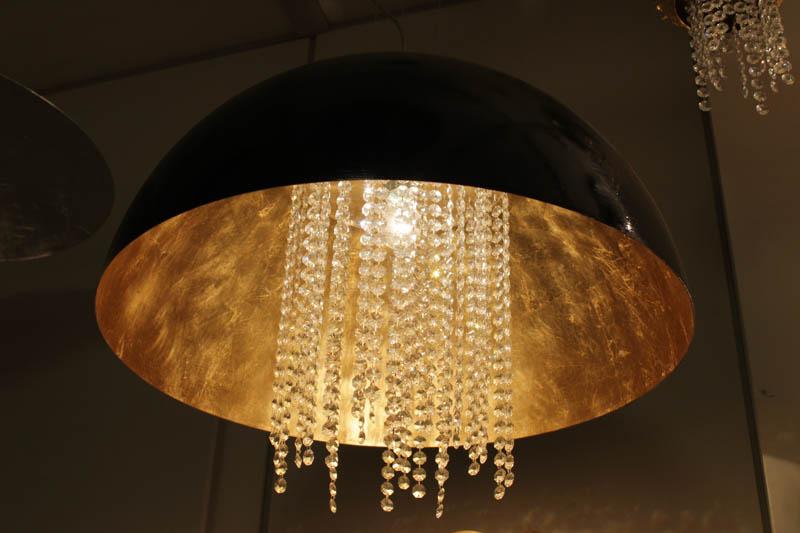 Lampada Cupola sospensione swarovski
