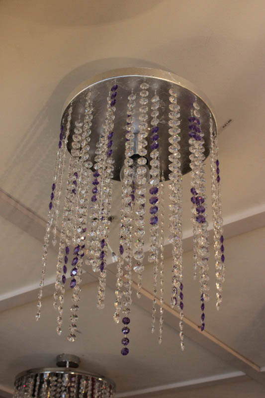 Lampada Plafoniera swaroski colorata