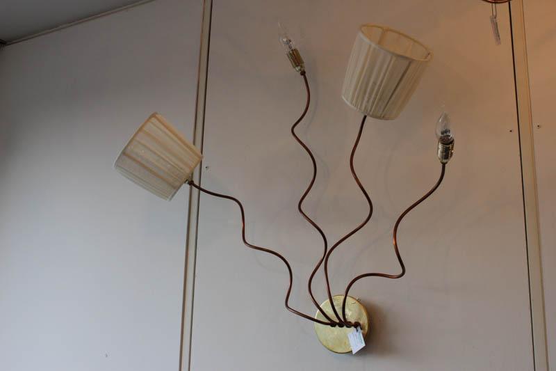 Lampada Ramix parete rame led