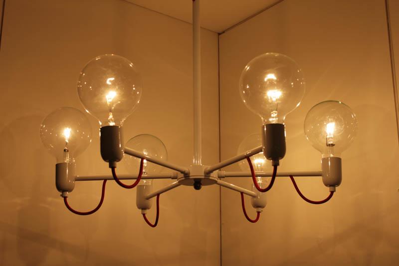 Lampada Sphere sospensioni 6luci led