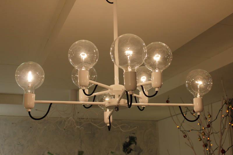 Lampada Sphere sospensioni 8luci led
