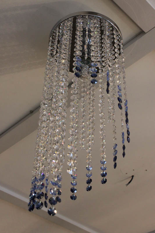 Lampada Spirale swarpvski plafoniera