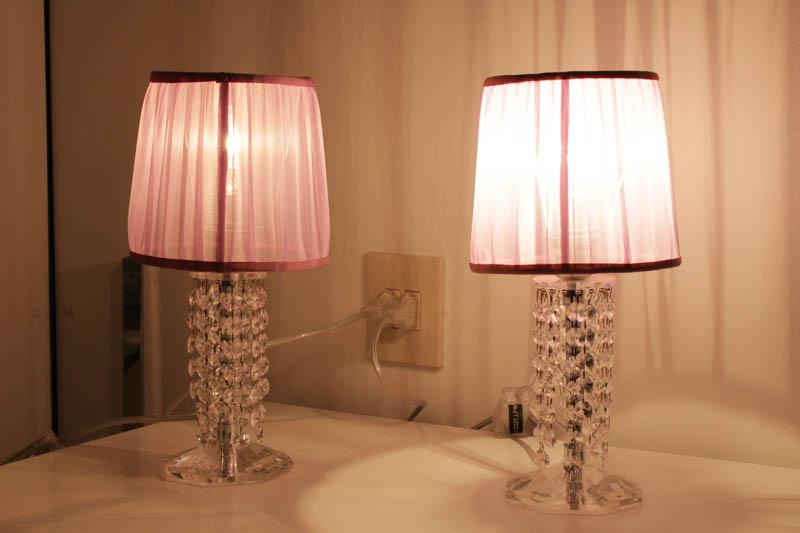 lampada cristallo con swarovski lumetto