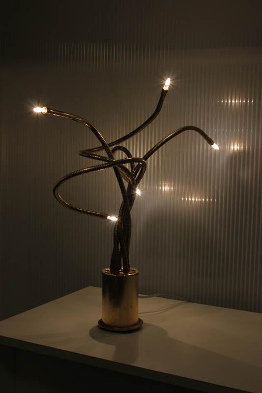 lampada milleluci flex ottone led